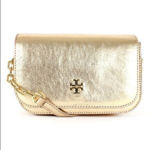Tory Burch Caitlin Gold Mini Crossbody